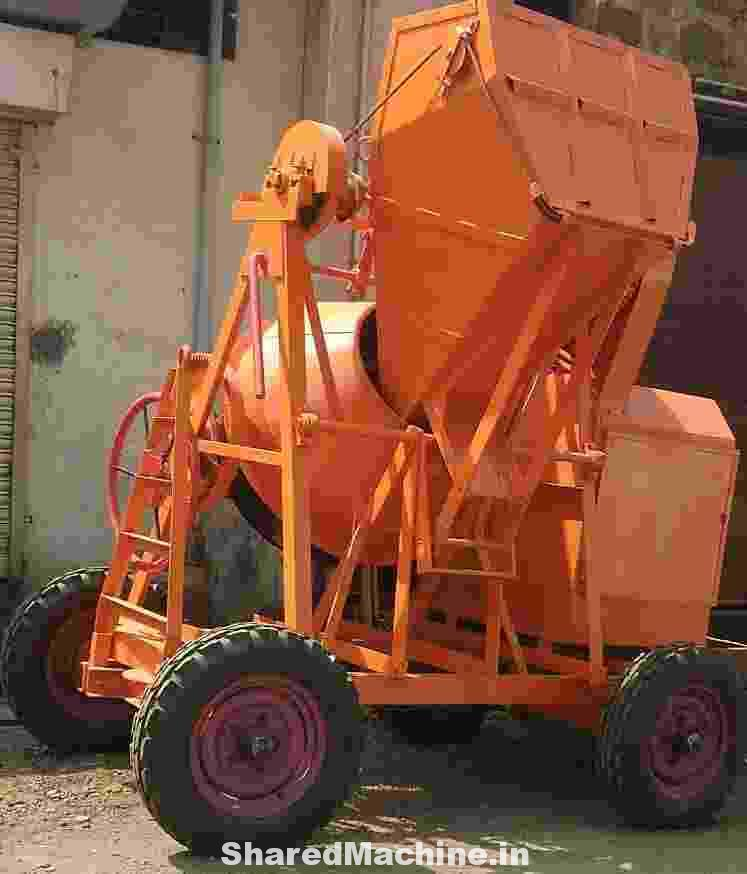 Concrete Mixer-Half Bag